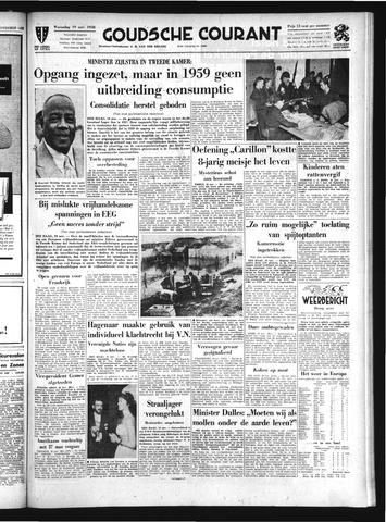 Goudsche Courant 1958-11-19