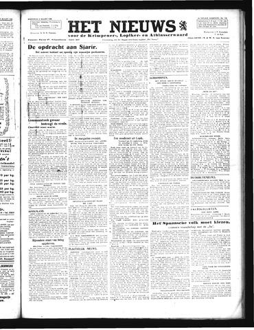 Schoonhovensche Courant 1946-03-06