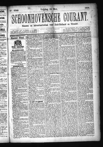 Schoonhovensche Courant 1916-05-19