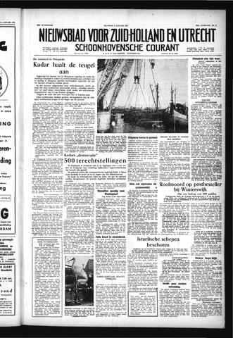 Schoonhovensche Courant 1957-01-14