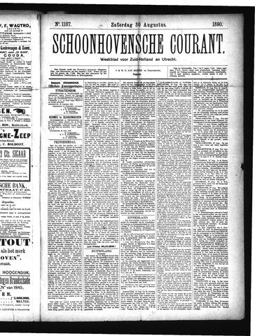 Schoonhovensche Courant 1890-08-30