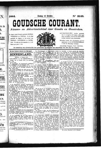 Goudsche Courant 1884-10-12