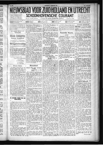 Schoonhovensche Courant 1931-08-05