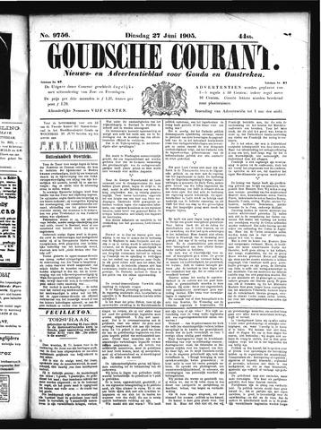 Goudsche Courant 1905-06-27