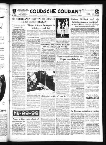 Goudsche Courant 1950-11-03
