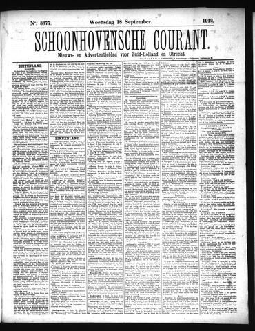Schoonhovensche Courant 1912-09-18