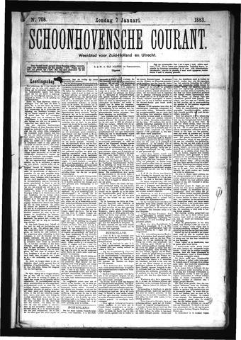 Schoonhovensche Courant 1883