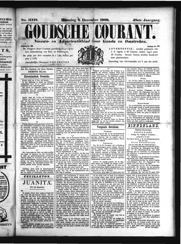 Goudsche Courant 1909-12-06