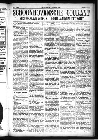 Schoonhovensche Courant 1926-08-23