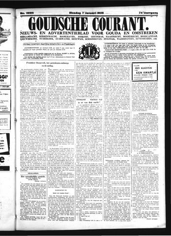 Goudsche Courant 1936-01-07