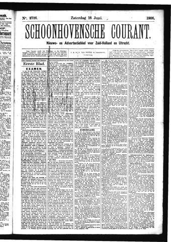 Schoonhovensche Courant 1906-06-16