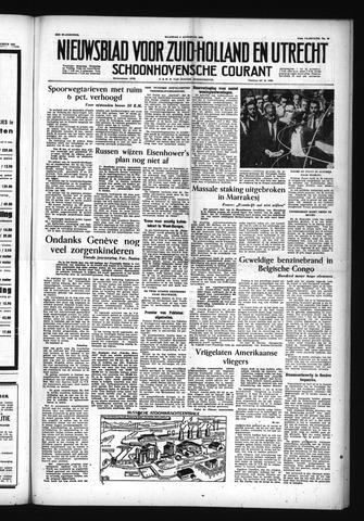 Schoonhovensche Courant 1955-08-08