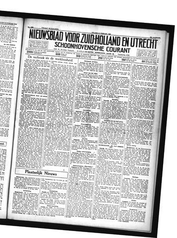 Schoonhovensche Courant 1935-02-15