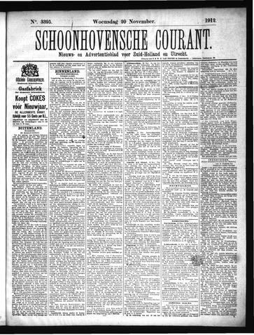 Schoonhovensche Courant 1912-11-20
