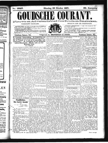 Goudsche Courant 1917-10-23
