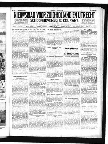 Schoonhovensche Courant 1939-08-02