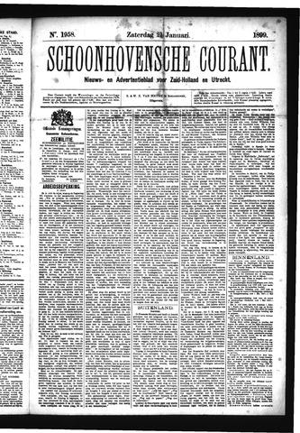 Schoonhovensche Courant 1899-01-21