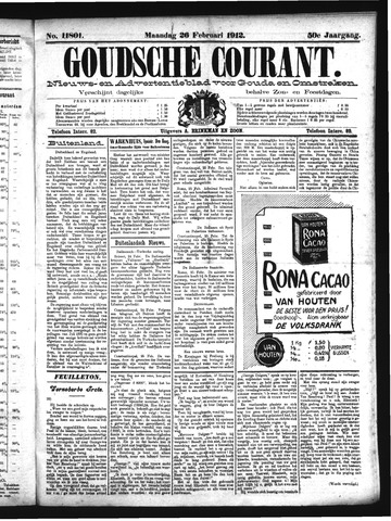 Goudsche Courant 1912-02-26