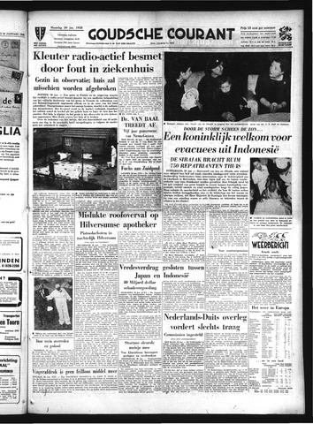 Goudsche Courant 1958-01-20