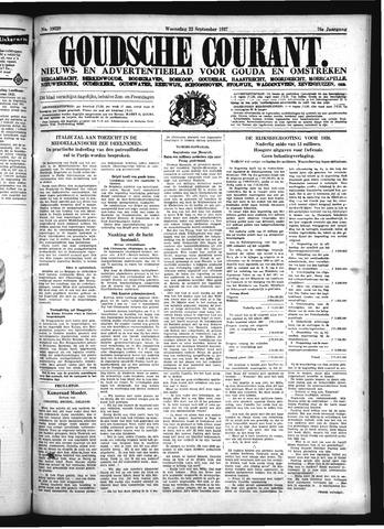 Goudsche Courant 1937-09-22