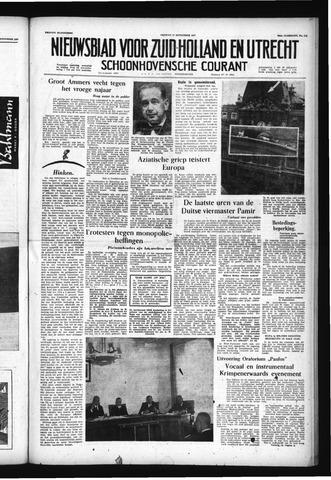 Schoonhovensche Courant 1957-09-27