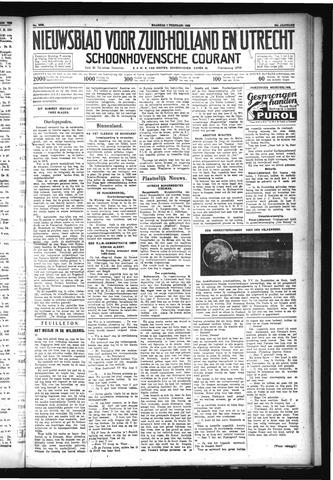 Schoonhovensche Courant 1932-02-01