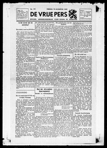 De Vrije Pers 1945-08-10