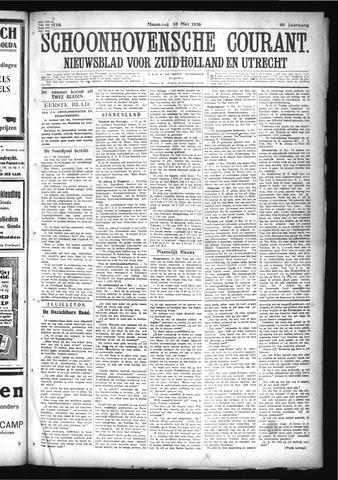 Schoonhovensche Courant 1926-05-10