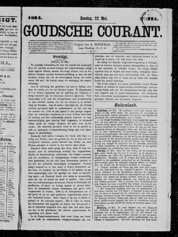 Goudsche Courant 1864-05-22