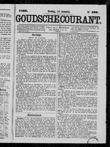 Goudsche Courant 1866-01-14