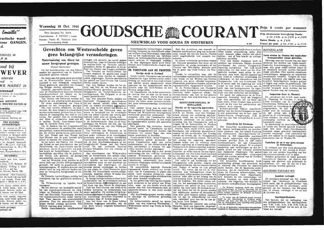 Goudsche Courant 1944-10-18