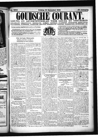 Goudsche Courant 1932-11-25
