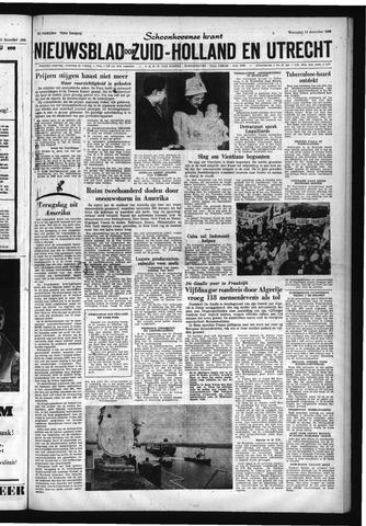Schoonhovensche Courant 1960-12-14