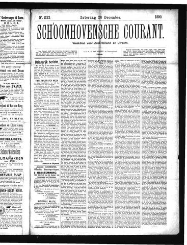 Schoonhovensche Courant 1890-12-20