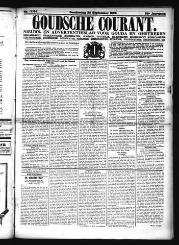 Goudsche Courant 1929-09-26