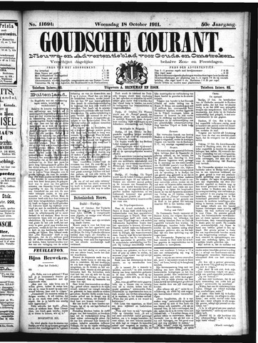 Goudsche Courant 1911-10-18