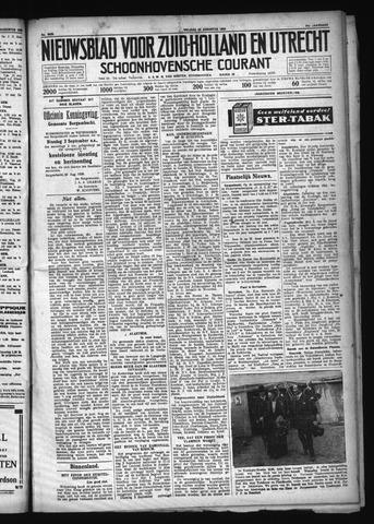Schoonhovensche Courant 1929-08-30
