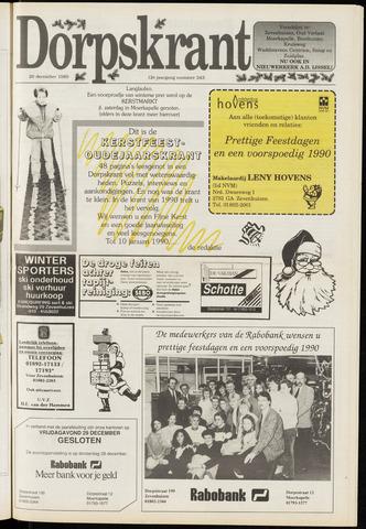 Dorpskrant 1989-12-20