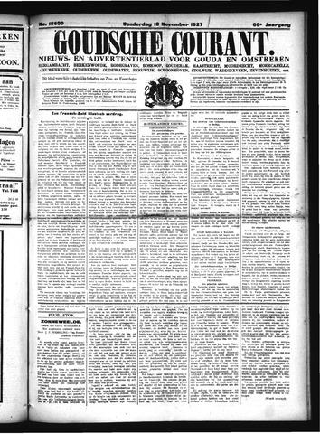 Goudsche Courant 1927-11-10