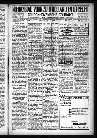 Schoonhovensche Courant 1932-10-21