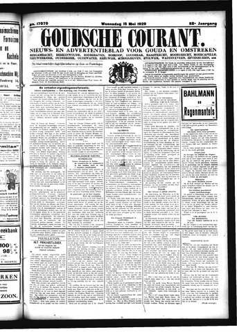 Goudsche Courant 1929-05-15