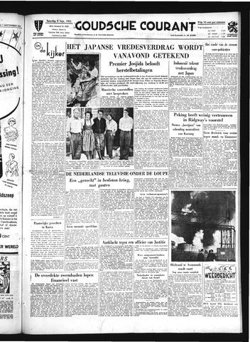 Goudsche Courant 1951-09-08