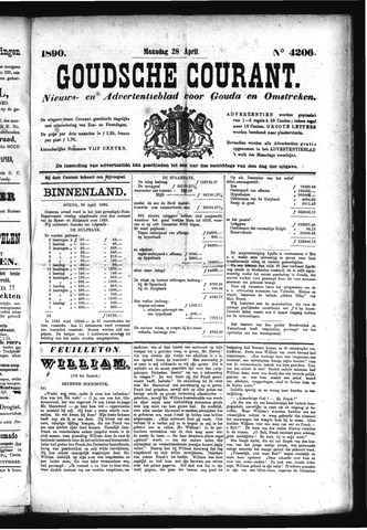 Goudsche Courant 1890-04-28