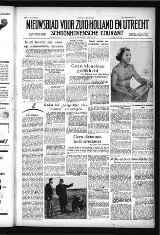 Schoonhovensche Courant 1957-01-18