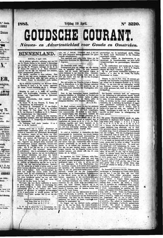 Goudsche Courant 1885-04-10