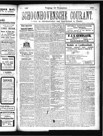 Schoonhovensche Courant 1919-12-12