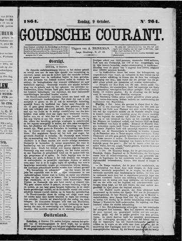 Goudsche Courant 1864-10-09