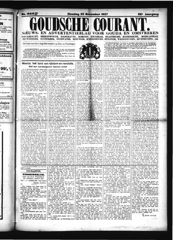 Goudsche Courant 1927-11-22
