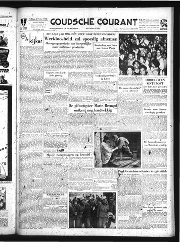 Goudsche Courant 1952-02-22