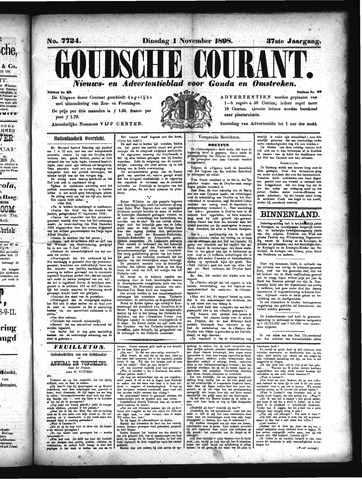 Goudsche Courant 1898-11-01